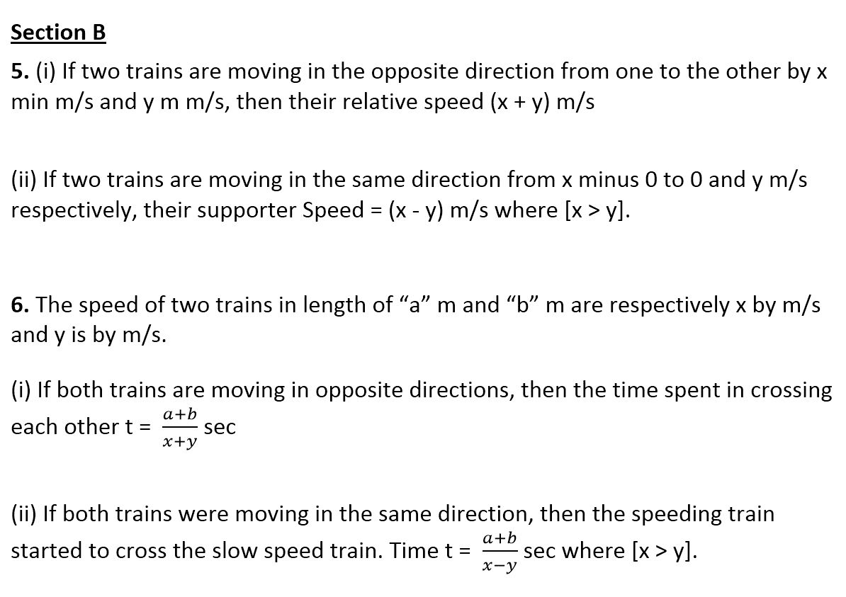 Time and Distance Mathematics
